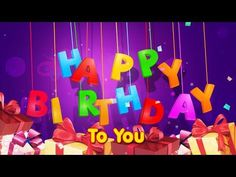 This traditional Happy Birthday Song video from infobells is sure to create a lot of excitement in every birthday. Wishing you all the great things in life, ...