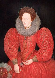 A 16th century portrait of Queen Elizabeth I