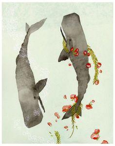 Whales by Jen Corace