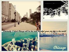 Chicago. i'll be back :)