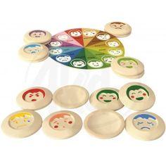Plan Toys Pexeso Nálady Das Abc, Plan Toys, Decorative Plates, How To Plan, Tableware, Home Decor, Memory Games For Kids, Kids Learning, Eco Friendly Toys