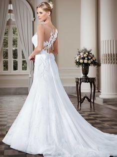 Vestidos de noiva - Coleção Callas (9) Costas