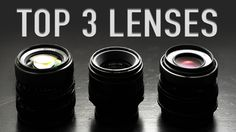 """MY TOP 3 GO-TO """"Vintage Lenses For Video"""""""