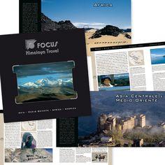 FOCUS HIMALAYA TRAVEL Cataloghi Turistici Progetto creativo - impaginazione grafica - fotoritocco