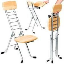 Image result for folding adjustable height stool