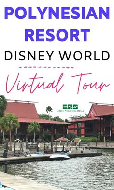 Visit the Polynesian Resort at Disney World by taking this virtual tour. In this video, you'll get to explore one of our family's favorite hotels. See inside a standard studio villa (check out the cute Lilo Walt Disney World Vacations, Disney Resorts, Vacation Deals, Dream Vacations, Bora Bora Bungalow, Disney World With Toddlers, Polynesian Village Resort, Gift Shops, Disney World Planning
