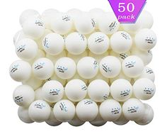 50 White 3 Star Table Tennis Balls Premium Training Ping Pong Balls for sale online Table Tennis Equipment, Table Tennis Net, Ping Pong Table Tennis, Table Tennis Racket, Tennis Crafts, Tennis Nets, Power Balls, Ping Pong Paddles, Sports Training
