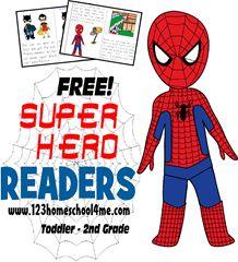 super hero readers