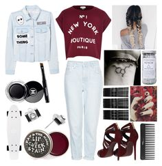 """""""Fun time"""" by musicmelody1 on Polyvore featuring Topshop, Dolce&Gabbana, MANGO, Herbivore, Chanel, Sephora Collection and Monki"""