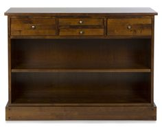 Garret chestnut console table