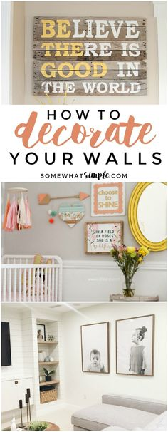 553 Best Wall Decor Ideas Images On Pinterest Bedrooms Bricolage