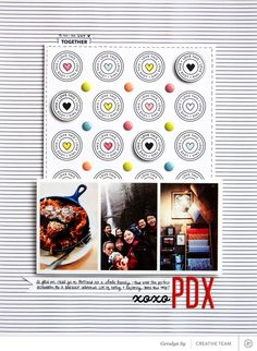PDX *Scrapbook Kit Only* by qingmei at @studio_calico