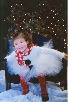 Miss Snowman Winter Christmas Tutu Set by SweetPeaAndButtercup, $54.99
