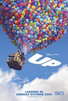 UP - Pixar's movie is beautifully drawn with plenty of adventure, but at the heart of this film is a love story . . . heartbreaking in its telling and uplifting through and through.