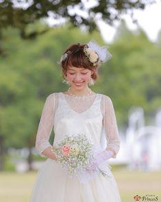 どこか儚げで可愛い♡花嫁ソロショットを撮るなら真似したい『伏し目ポーズ』5パターン* | marry[マリー]
