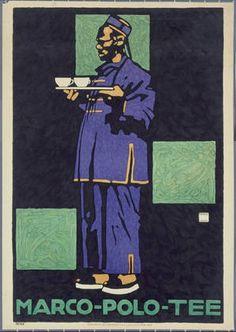 Ludwig Hohlwein, Marco Polo Tea, 1910