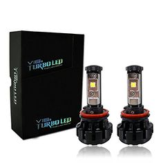 V18 CREE LED Headlights Bulbs - H11/H8 Lights - Easy Installed, 40W 4,800Lm 6000K Pure White- 2 Year Warranty -- Awesome products selected by Anna Churchill
