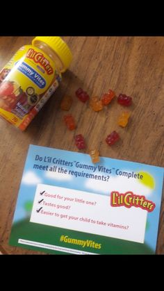 Great source of nutrients and vitamins for your little picky eaters! #GummyVites #Smiley360  #freesample
