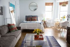 Small On Space, Big On Style: 4 Lessons from a 450-Square-Foot Greenwich Village Apartment — Why It Works