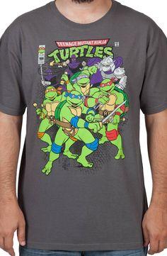 TMNT Comic Shirt