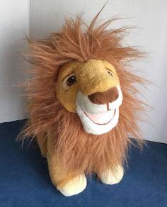 """Mattel The Lion King Mufasa Plush 13"""" Stuffed Animal  #Mattel"""