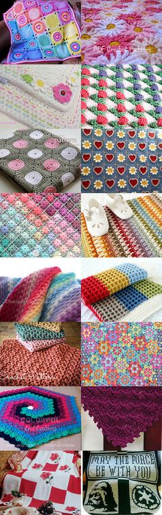 Crochet Throw Pattern LUV by Hookin' to the Beat on Etsy