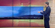 Defesa Civil confirma passagem de 'tsunami meteorológico' em SC