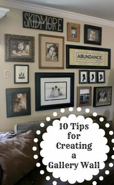 10 Tips for Creating a Gallery Wall