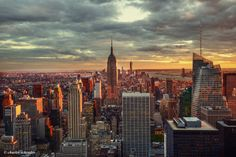 Lower Manhattan from Top of The Rock by Charles Schrader... | New York City Feelings | Bloglovin'