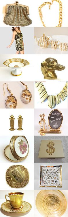 MIDAS TOUCH BY VOGUETEAM #voguet by Aggie on Etsy, www.PeriodElegance.ety.com