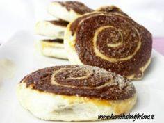 Girandole Golose di Pasta Sfoglia e Pasta Brioche al Cacao