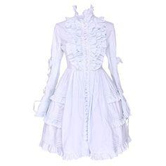 Partiss Women's Lace Sweet Ruffles Vintage Victorian Clas... http://www.amazon.com/dp/B01EN05692/ref=cm_sw_r_pi_dp_96.kxb0XVT1C9