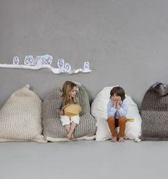 what if i took my old cashmere sweaters and made them in to kids room pillows??