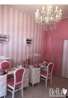 ️Nails Boutique - Roma, Italy ️ via Gerolamo Seripando Rome Thank you Federica for trusting us . Your salon looks fab ❤️Proudly furnished by Bella Furniture ️ Home Nail Salon, Nail Salon Design, Nail Salon Decor, Salon Interior Design, Beauty Salon Design, Bella Furniture, Salon Furniture, Furniture Ideas, Kids Salon