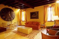 Yellow/Brown Living Room Scheme