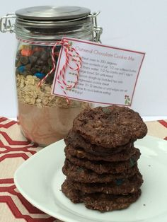 Chocolate Oatmeal Cookie Mix