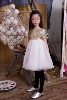 This is what you call a party dress! I Love Gorgeous for fall/winter 2013 kids designer fashion from the UK