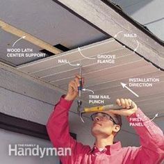 How to Install Aluminum Soffits that are Maintenance-Free Standing Seam Metal Roof Details: Cost, Colors, and Pros & Cons Standing seam is a descripti. Roof Soffits, Vinyl Siding Installation, Fascia Board, Roof Edge, Diy Home Repair, H & M Home, Roof Repair, Home Repairs, Bricolage