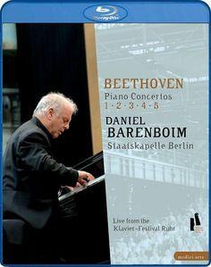Daniel Barenboim/Staatskapelle Berlin: Beethoven - Piano Concertos 1-5