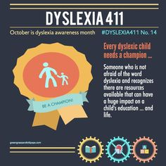 Every child with dyslexia needs a champion. Be that person. www.BrightSolutions.US