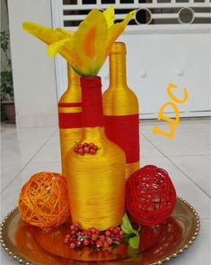 Table Centers, Table Centerpieces, Interior Decorating, My Love, Bottle, Collection, Instagram, Home Decor, Decorated Bottles