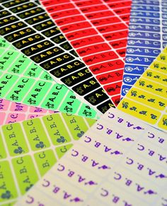 """Playpennies kindly reviewed our My Nametags iron-on and sticker name labels and said """"a good size, really do stay on clothing and other items...9 out of 10""""."""