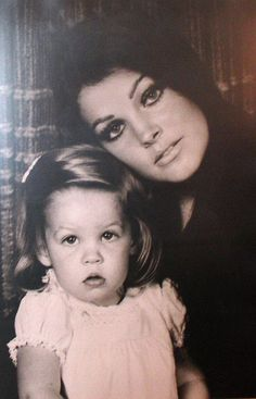 Priscilla Presley and daughter Lisa Marie Presley