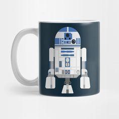 R2D2 Flat coffee mug