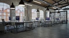 IT office interior design by Cholakov-Gongalov Architects at Coroflot.com