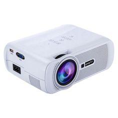 [$73.40] Uhappy U80 Portable Home Theater 1080P LED HD Mini Digital Projector, Support HDMI, VGA, USB(White)