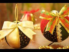 Quilted Ornaments, Handmade Ornaments, Handmade Christmas, Christmas Bulbs, Xmas, Ornament Tutorial, Tree Toppers, String Art, Diy Design