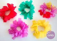 pulsera flecos flores - casamientos cotillon x 12 pulseras
