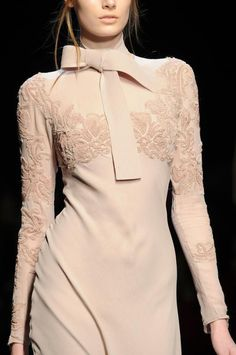 Ermanno Scervino Ready To Wear Fall/Winter 2014 details.  Milan Fashion Week.