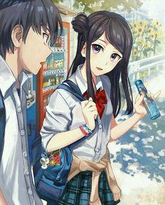 Anime Couples Anime School Girl Anime Girls I Love Anime Anime Characters